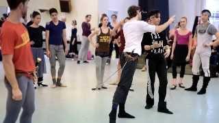 Nureyev's Romeo & Juliet - In Rehearsals