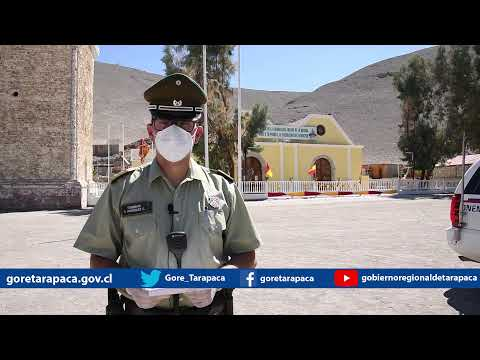 Punto de prensa 08 de agosto de 2020 - Gobierno Regional de Tarapacá