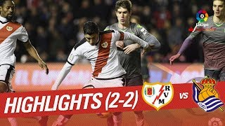 Highlights Rayo Vallecano vs Real Sociedad (2-2)