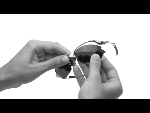Oakley Romeo 2 Lens Replacement & Installation Instructions
