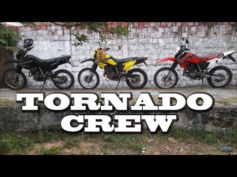 Tornado Crew - Preta, Amarela e Vermelha HD