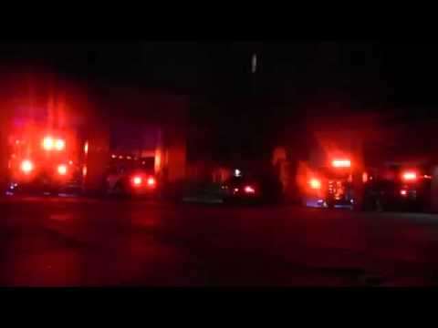 FD celebrates holiday with ambulance lights show