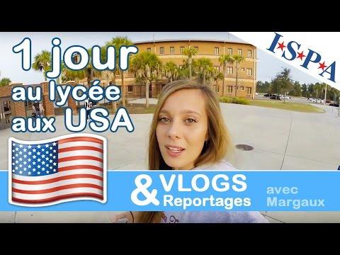 """""""Un jour au lycée aux USA"""" - VLOG USA #8 - Margaux avec ISPA"""