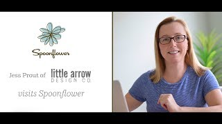 Design Secrets from Jessica Prout of Little Arrow Designs | Spoonflower