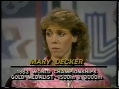 Olympics - 1984 Los Angeles - Track - Highlights & Interview - Mary Decker On Womens 3000m