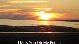 Bruce Shisheesh: I Miss You Oh My Friend