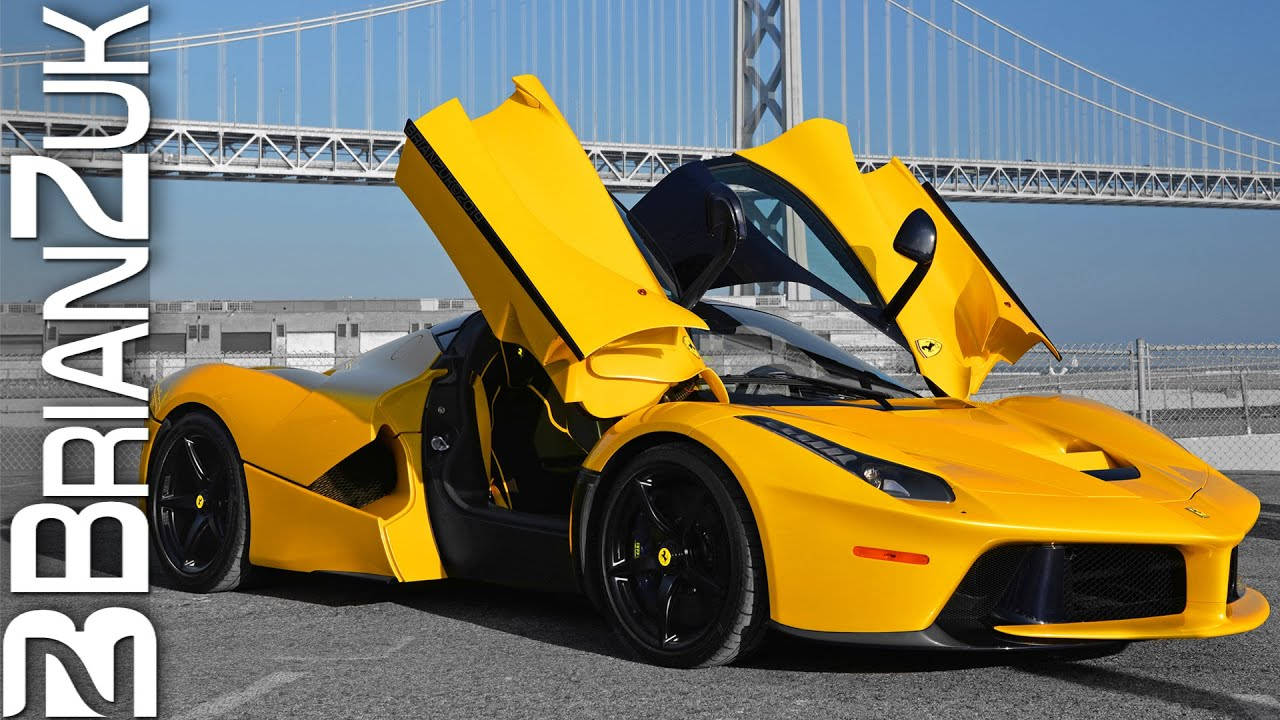 Yellow Ferrari Laferrari Youtube