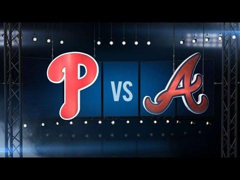 5/11/16: Perez, Freeman lead Braves over Phillies