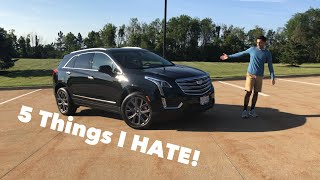 5 Things I HATE About The 2019 Cadillac XT5!