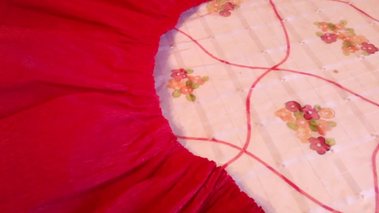 Cómo hacer una falda de papel crepé. - YouTube