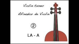 Violin Tuner - Afinador de Violín