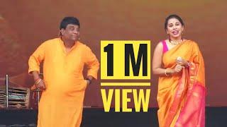 Chala Hawa Yeu Dya Fame Bhau Kadam & Shreya Bugade LIve Perforamance #Diwali Pahat 2019