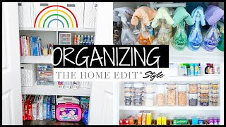 ORGANIZING THE HOME EDIT STYLE | EXTREME ORGANIZE WITH ME 2020 | FALL CLEAN + ORGANIZE