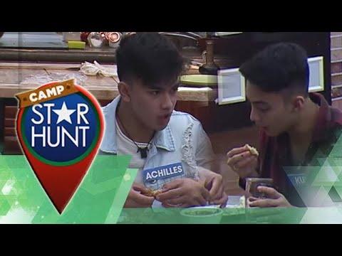 Camp Star Hunt: Achilles, ipinatikim ang kanyang recipe kay Kurt