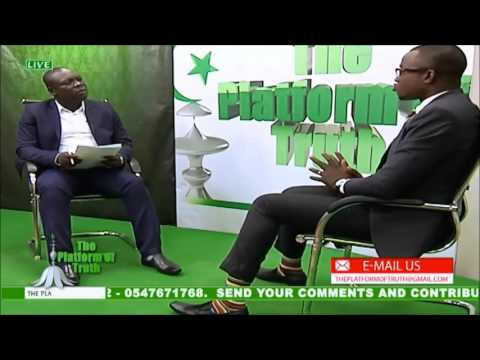 PLATEFORM OF TRUTH INTERVIEW  WITH CEO OF FIRST COLLECT GHANA LTD