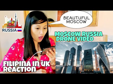 MOSCOW RUSSIA AERIAL DRONE 5K TIMELAB.PRO - REACTION #moscow #russia #russiareaction #moscowrussia