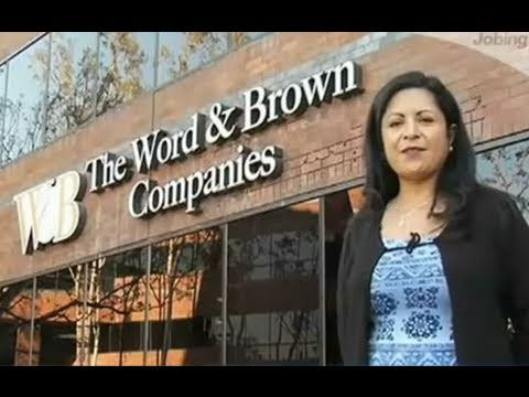Word and Brown Companies - YouTube
