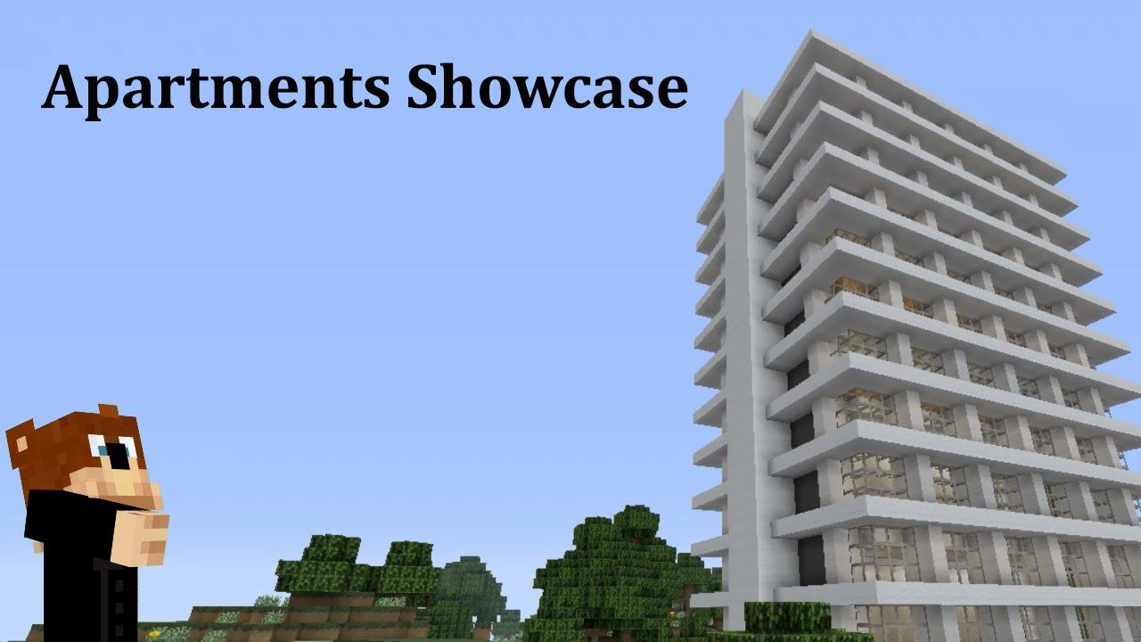 Minecraft Skyscraper Apartments Youtube