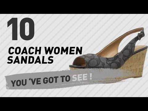 Coach Women Sandals // New & Popular 2017