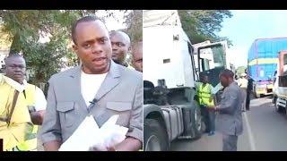 """Jerry Muro aingia barabarani mwenyewe, akamata magari 10 """"yanapita kwangu kihalali"""""""