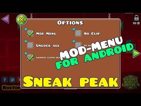 Geometry Dash In-Game Mod Menu For Android ~ SNEAK PEAK