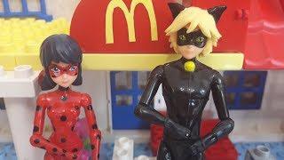 Леди Баг и Супер-Кот Компьютерный игрок Мультик из игрушек