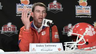 Dabo Swinney Orange Bowl postgame press conference