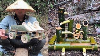 Gambar cover Amazing ideas use bamboo make everything DIY 2019