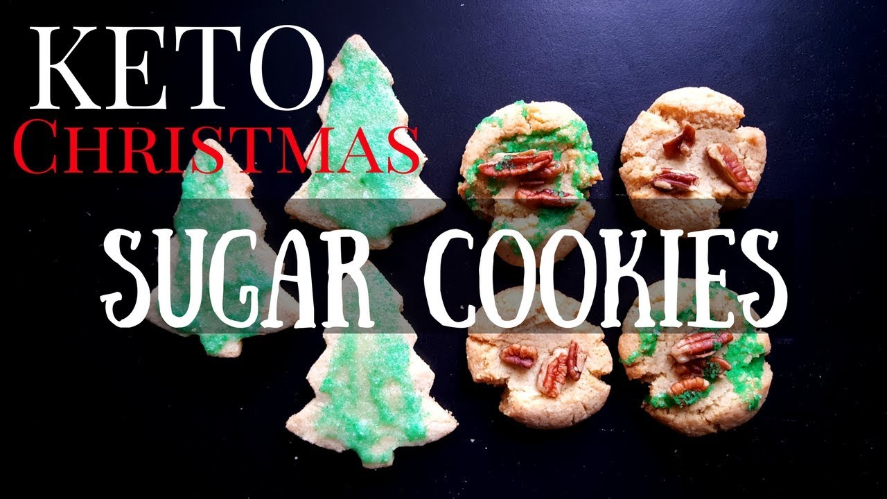 Keto Sugar Cookies Christmas Cut Out Recipe 1 Net Carb Low Carb Desserts