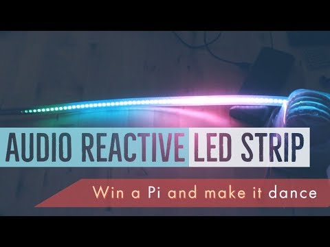 Audio Reactive Lights with Raspberry Pi + Win a Free Pi