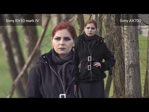 Sony AX700 vs Sony RX10 mark IV - zoom