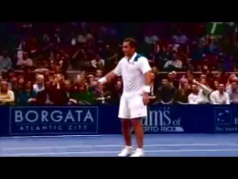Roger Federer Top 10 monster 2nd serves (HD)