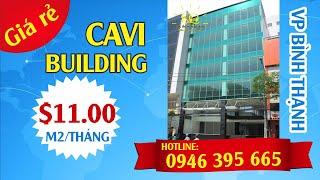 VĂN PHÒNG CHO THUÊ QUẬN BÌNH THẠNH CAVI BUILDING