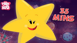 Twinkle Twinkle Little Star And More Fun Nursery Rhymes For Kids  | 35 Minutes Compilation