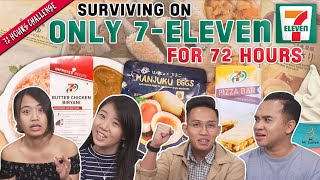 ONLY 7-11 Food and Drinks For 72 Hours!   72 Hours Challenges   EP 12