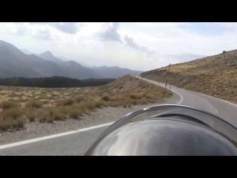 Sierra Nevada motorbike trip in Andalusia, Spain