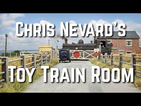 A tour around Chris Nevard's Model Railway Room