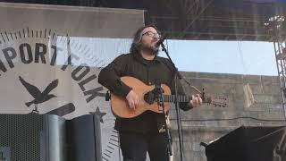 """Gambar cover Jeff Tweedy """"An Empty Corner"""" from the new Wilco album. Live at Newport Folk Festival, July 27, 2019"""