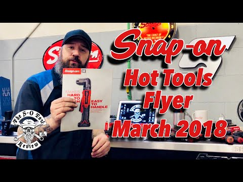 March 2018 SNAP-ON Hot Tools Flyer Review