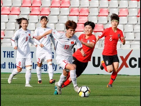 Korea Republic 4-0 Vietnam (AFC Women's Asian Cup 2018: Group Stage)