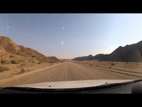 Driving in Namibia - Sendelingsdrif to Rosh Pinah
