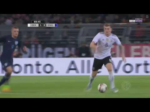 GOOLL PERPISAHAN LUKAS PODOLSKI! GERMANY VS ENGLAND 1-0