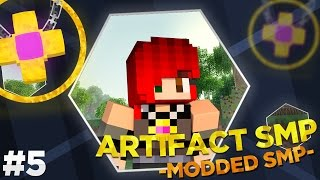 Minecraft Modded Artifact SMP : ALESA JOINS THE FRAY!