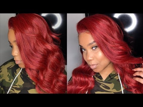 JESSICA RABBIT INSPIRED WIG FOR ONLY $49.99! 😍❤️| WORTH IT?! | GLS260 | FridayNightHair