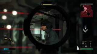 Deus Ex Mankind Divided - Using Combat Rifle as a Sniper Rifle