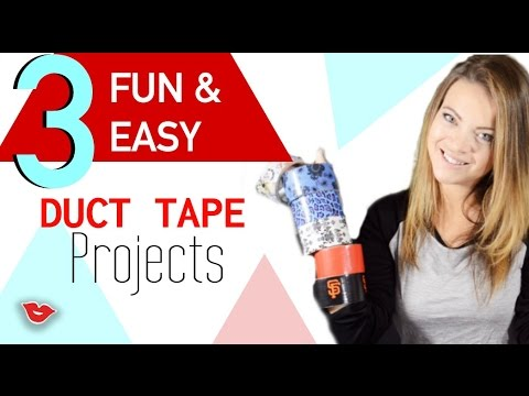 Diy Fun And Easy Duct Tape Projects Tay From Millennial Moms