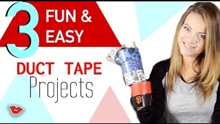 Diy Fun And Easy Duct Tape Projects