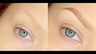 Aktualizacja Brwi - Moja Technika | Updated Eyebrow Routine | EN subs | kitulec