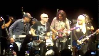 Little Wing - Steve Vai, Joe Satriani, Orianthi (Live House of Blues, Hollywood 7-10-2011)