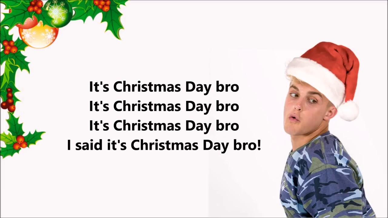 Jake Paul - it\'s Christmas Day bro ( lyrics song ) feat. Team 10 ...